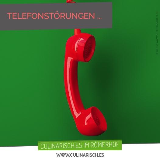 Telefonstörungen …
